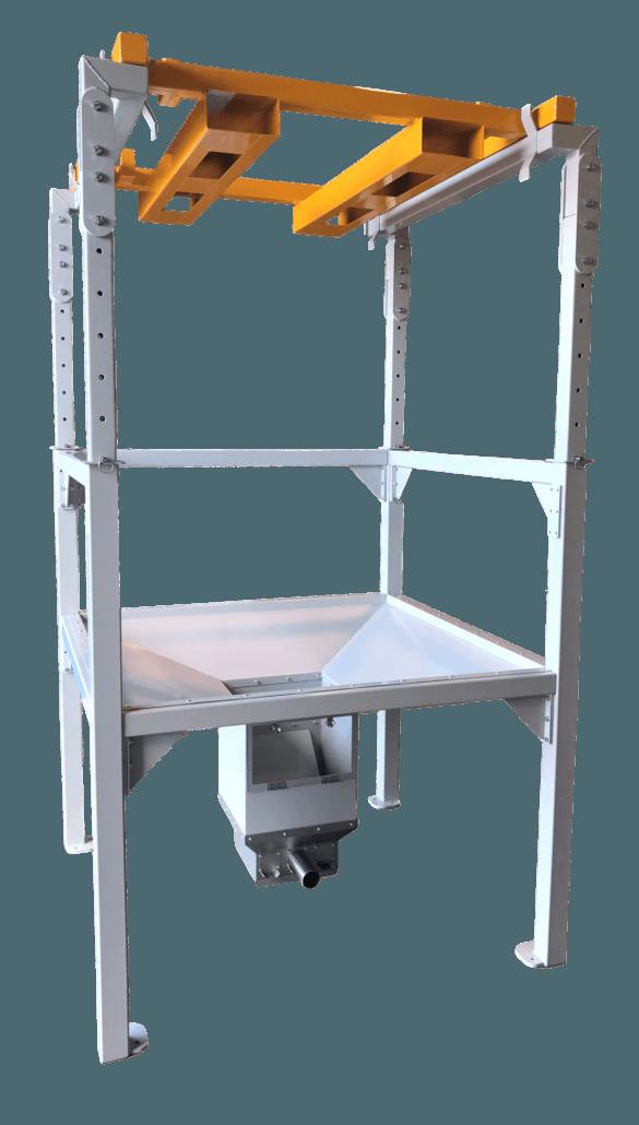 Upper Frame for Suspended FIBC with Forklift Frame